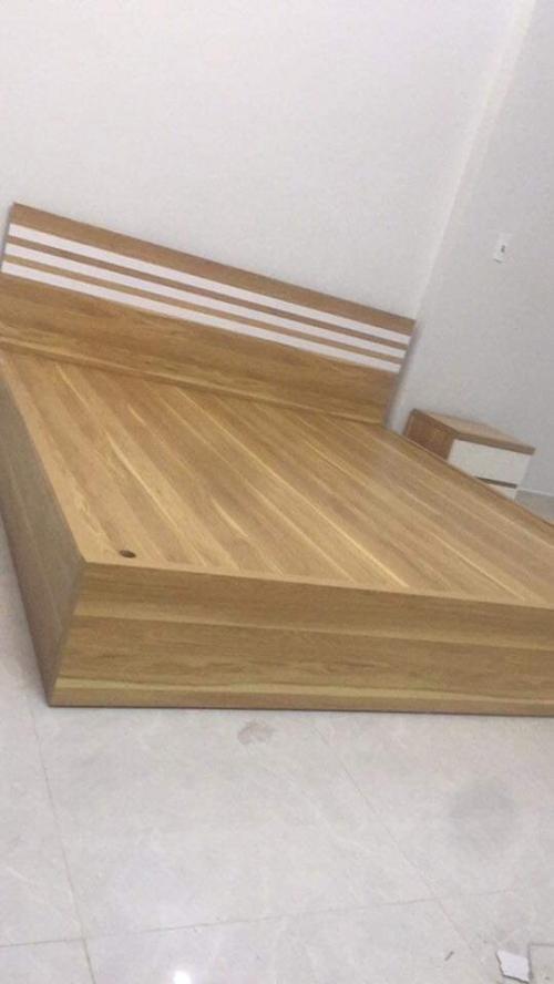 giường gỗ công nghiệp GN1044 - Giường ngủ gỗ công nghiệp