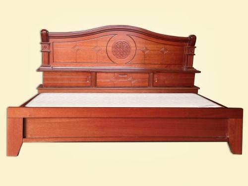 Giường gỗ công nghiệp GN4007 - Giường ngủ