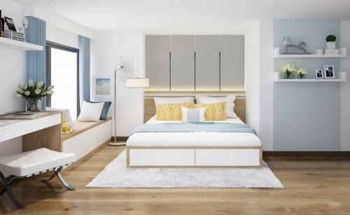 Giường gỗ công nghiệp GN4011 - Giường ngủ