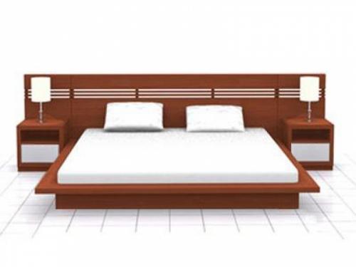 Giường gỗ công nghiệp GN4017 - Giường ngủ
