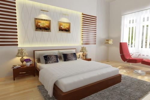 Giường gỗ công nghiệp GN4019 - Giường ngủ