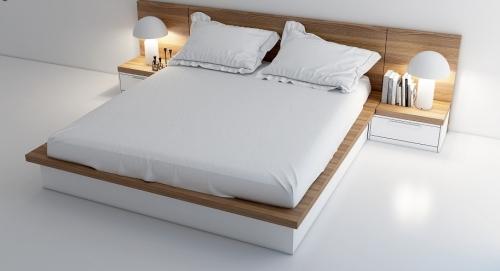 Giường gỗ công nghiệp GN4023 - Giường ngủ
