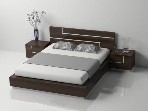 Giường gỗ công nghiệp GN4037 - Giường ngủ