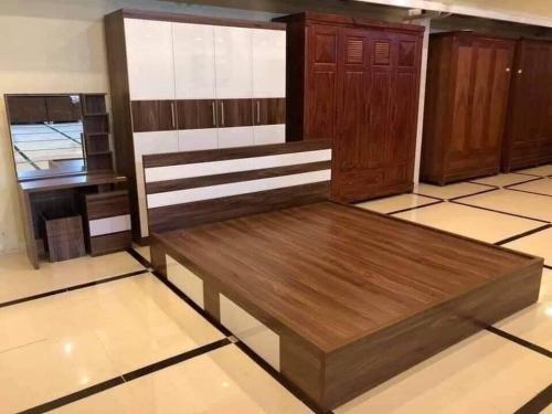 Giường gỗ công nghiệp GN4041 - Giường ngủ
