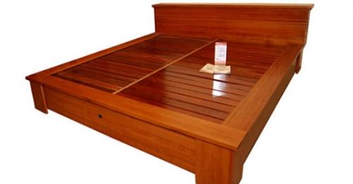 Giường gỗ công nghiệp GN4070 - Giường ngủ