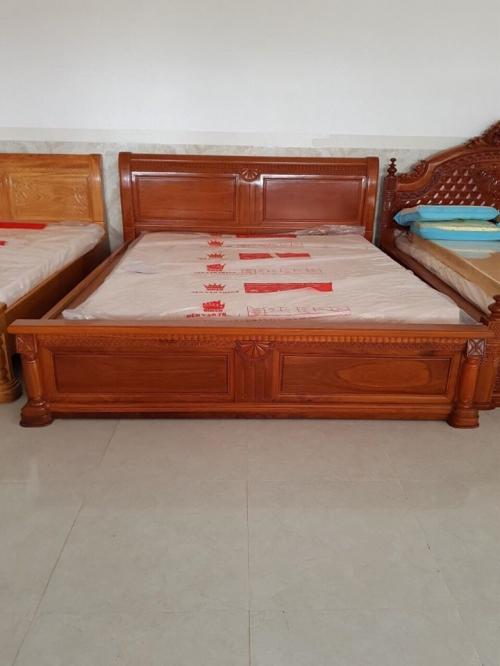 Giường ngủ 1m8 lọt lòng nệm - Giường ngủ