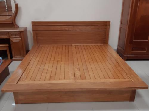 Giường ngủ gỗ đinh hương Kiểu Nhật - Giường ngủ