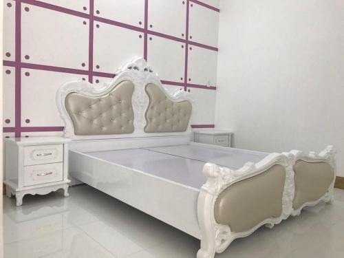 Giường ngủ kiểu Âu GN5003 - Giường ngủ