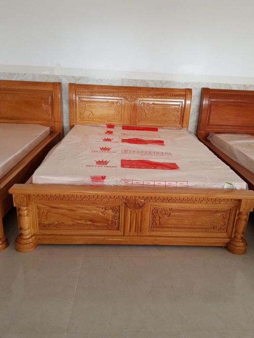 Giường ngủ tân cổ điễn 1m8 hàng cao cấp - Giường ngủ