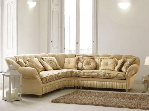 Sofa góc cổ điển SF112-002 chử L - Sofa