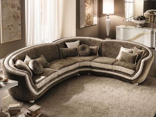 Sofa góc cổ điển SF112-003 - Sofa
