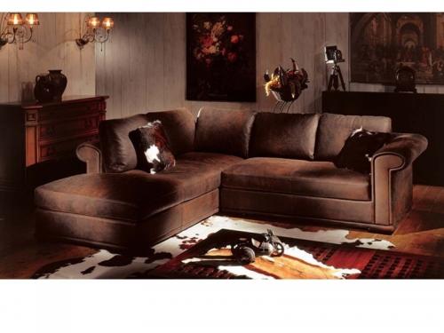 Sofa góc cổ điển SF112-007 - Sofa