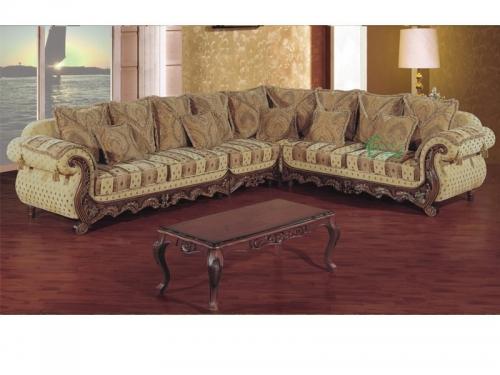 Sofa góc cổ điển SF112-014 - Sofa