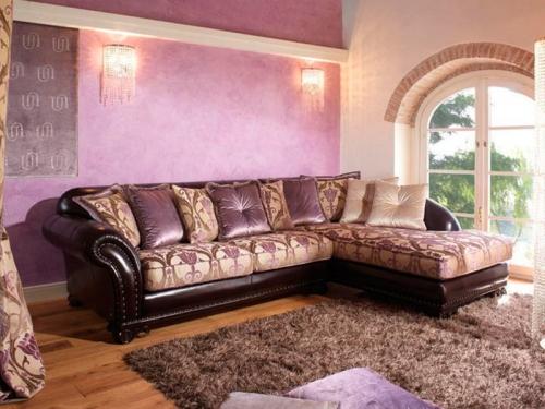 Sofa góc cổ điển SF112-015 - Sofa
