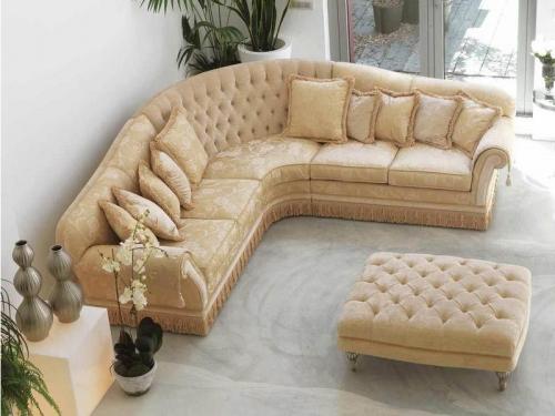 Sofa góc cổ điển SF112-017 - Sofa
