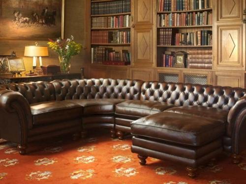 Sofa góc cổ điển SF112-020 - Sofa