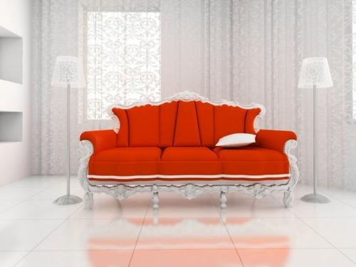 sofa văng cổ điển SF132-109 - Sofa