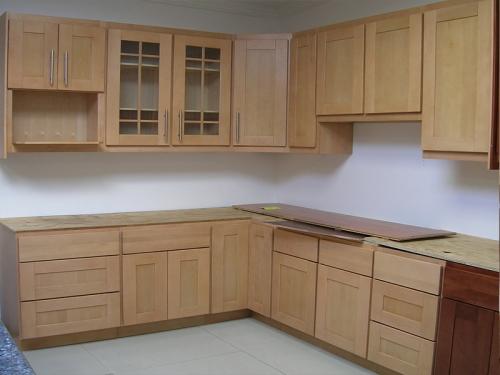 Tủ bếp gỗ sồi TB1212 - Tủ bếp gỗ