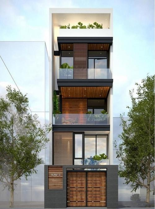 Xây dựng nhà 4 tầng dưới 2 tỷ đẹp như mơ