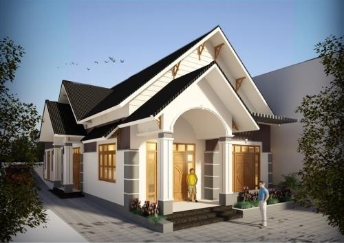 Xây dựng nhà cấp 4 mái thái siêu rẻ chỉ với 300 triệu đồng